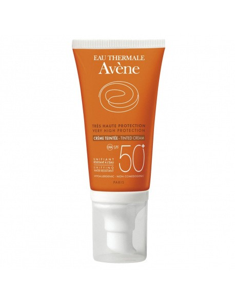 Avène Bloqueador Solar FPS 50+ Con Color Crema 50ML